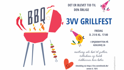 invitation til Grillfesten